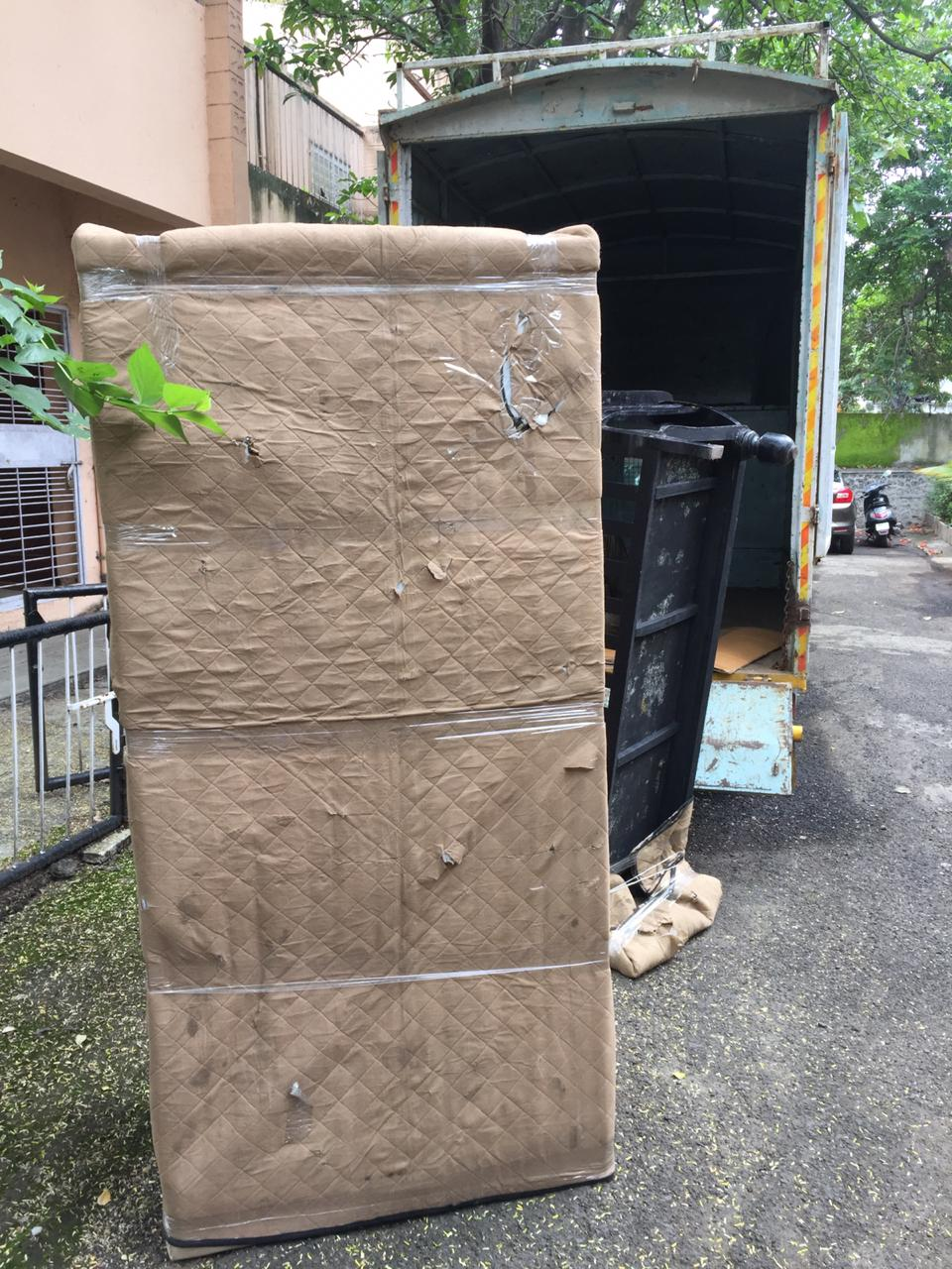 Almira Packing With Foam Sheet In Local Shifting