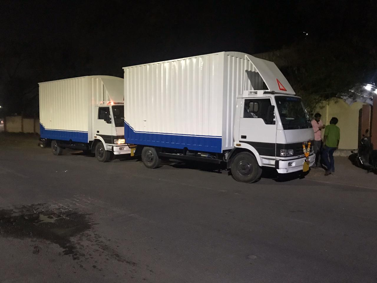 we provide close container vehicle for local shifting as well as for domestic so that household stuff will be safe and will not get damage by rain water in rainy season.