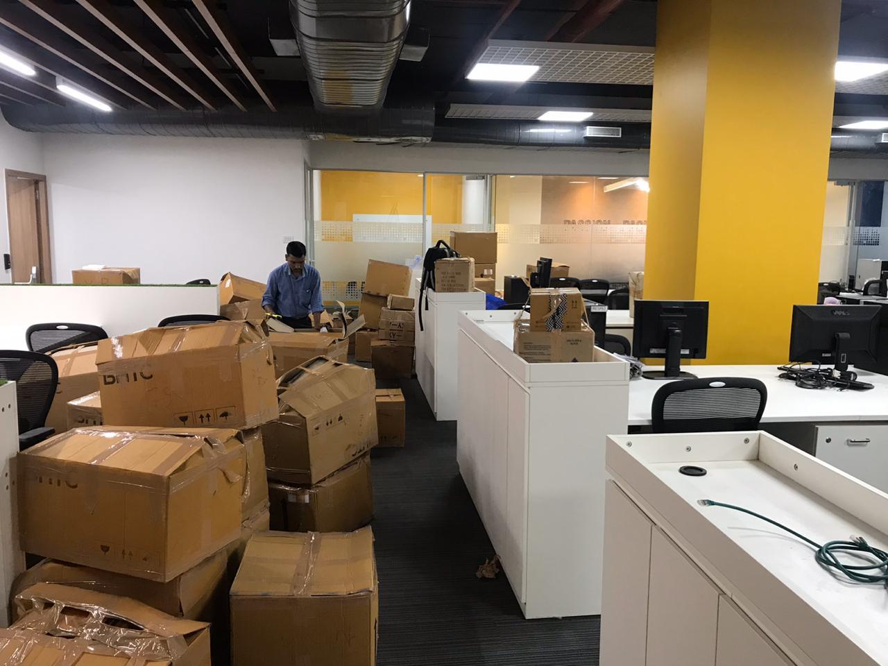 Office Shifting AlleyGrow  From Kothrud To Hinjewadi